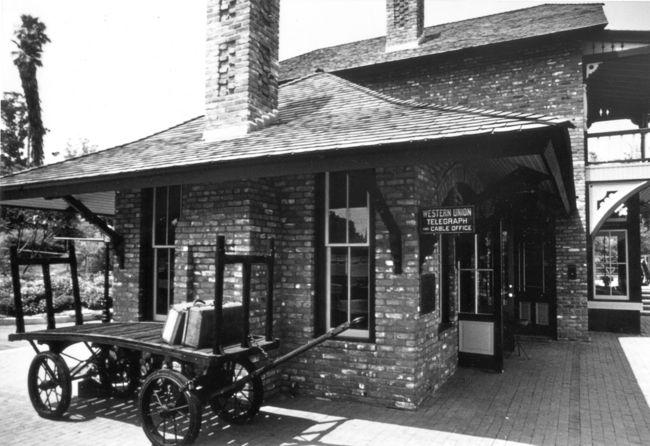 Arcadia depot in 1960s