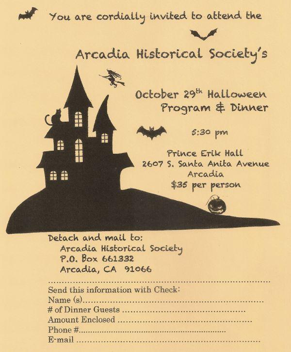 Arcadia Halloween event