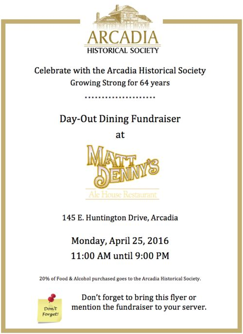 historical society fundraiser