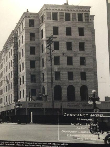 Pasadena hotel archive