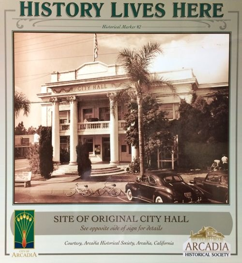 Arcadia Historical Marker No. 2
