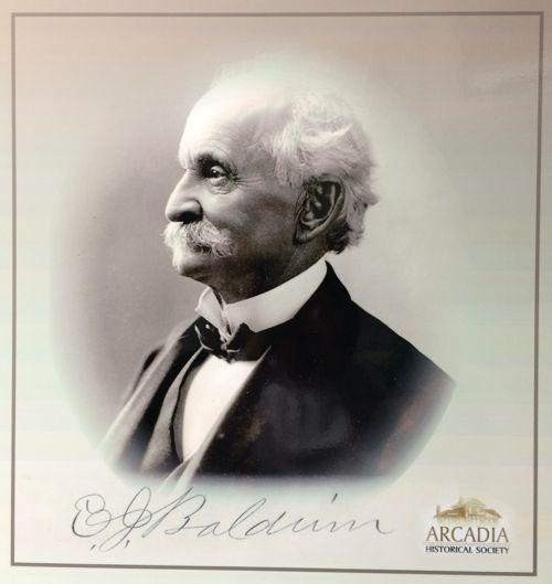 Arcadia Historical Marker No. 10 - Lucky Baldwin