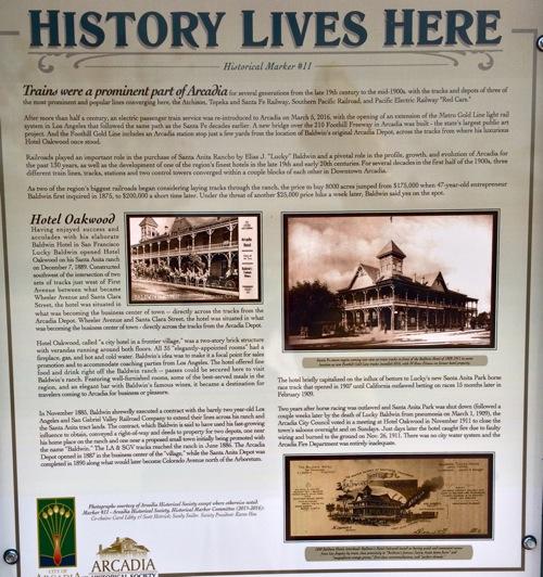 Arcadia Historical Marker No. 11