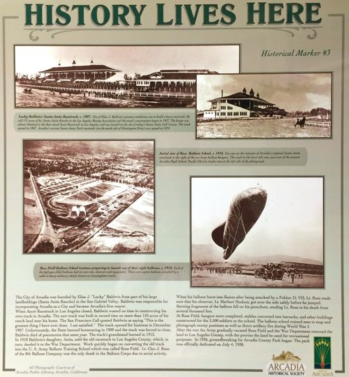 Arcadia Historical Marker No. 3