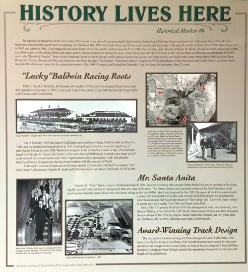 Arcadia Historical Marker No. 6