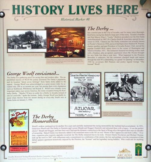 Arcadia Historical Marker No. 8