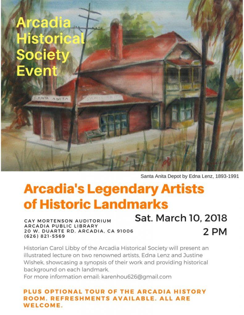legendary arcadia artists event