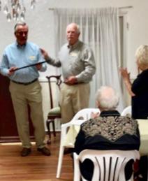 Gil Stromsoe honored in Arcadia